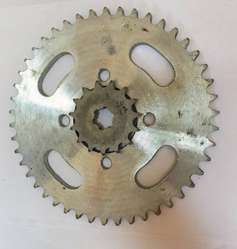 kit corona piñon cadena kawa kh 125 15-46 solomototeam