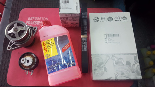 kit correa distribucion + bomba agua + bosch vw golf 1.6 8v