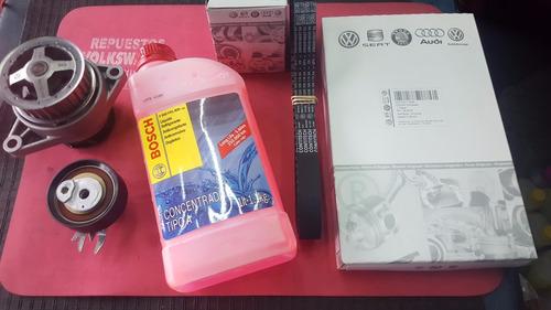 kit correa distribucion bomba agua + bosch vw voyage 1.6 8v