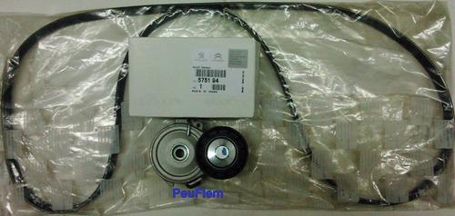 kit correa poly y tensor diesel 1.9  p/ partner y berlingo