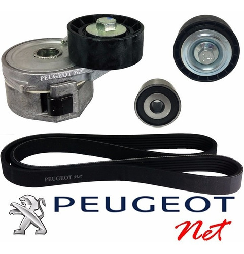 kit correa + tensores polyv original partner 1.9 diesel