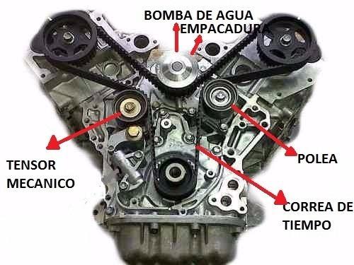 Kit Correa Tiempo Chevrolet Luv Dmax 3 5 Con Bomba De Agua