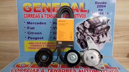 kit correia alternador acess. gm omega 3.6 24v v6 2005/.