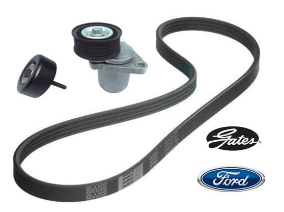 Kit Correia Alternador Poly V Ford Focus 2 0 16v Duratec
