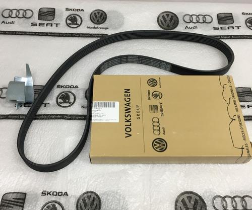 kit correia dentada+alternador+ar p/ fox direção eletrica vw