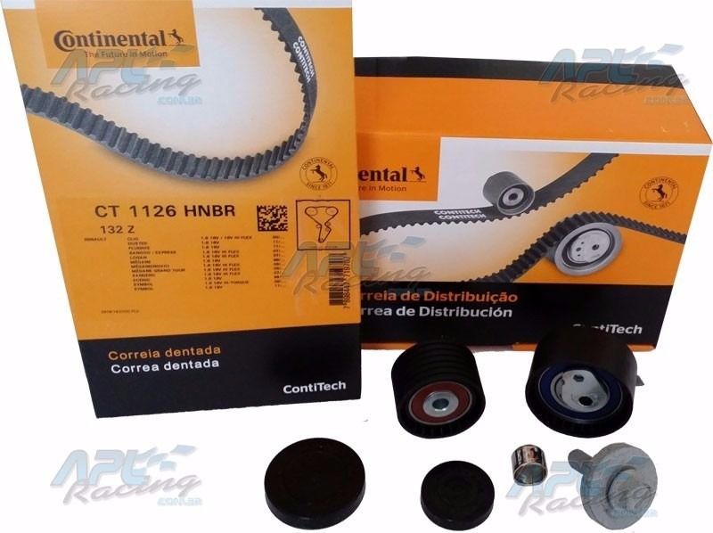 Kit Correia Dentada Duster 2013 1 6 16v Original Contitech