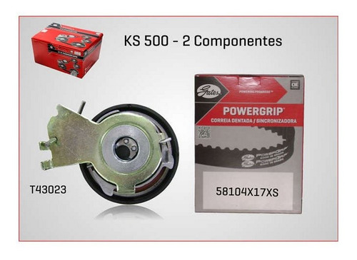 kit correia dentada e tensionador gates ks500 citroen c3
