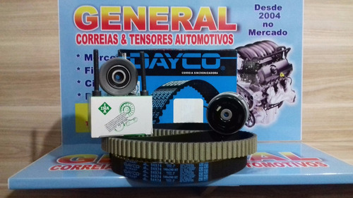 kit correia dentada gm cruze 1.8 16v