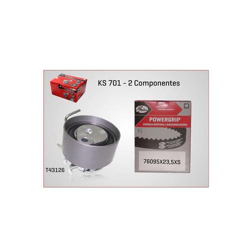 kit correia dentada tensor ks701 logan 1.0 16v 2011