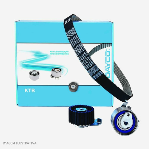 kit correia dentada/rolamento tensor gol 1.0 8v at 96/02