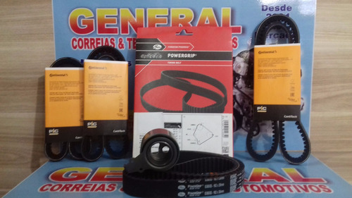 kit correia dentada/tensor/alt gm tracker 2.0 8v diesel mazd