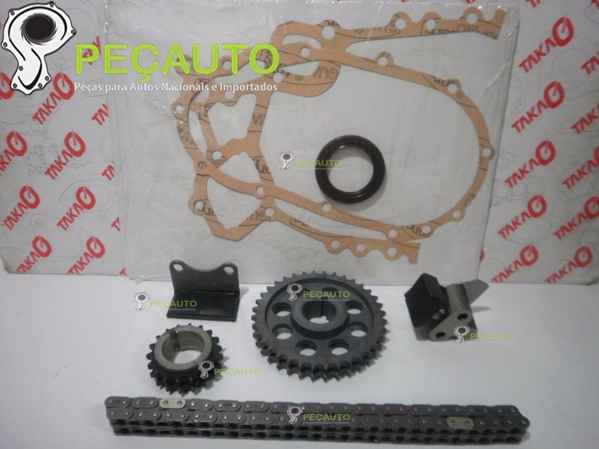 Kit Corrente Para Empilhadeira Motor Toyota 4y 22 8v R 46230 Em How Timing Engine Carregando Zoom