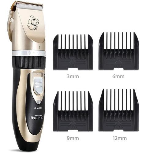 kit cortadora de pelo para mascotas recargable sonar