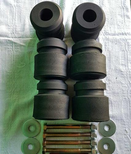 kit coxim da cabine f-250 f-350 f-4000 (pneu) com parafusos