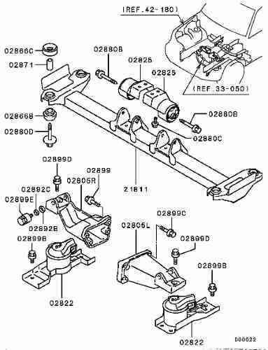 kit coxim motor esquerdo + direito pajero tr4 2005 2006 2007