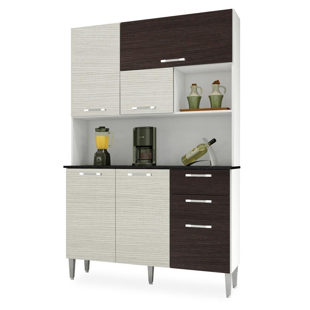 Kit Cozinha Compacta Branco Com Arena E Bano Fl Rida R 620 00