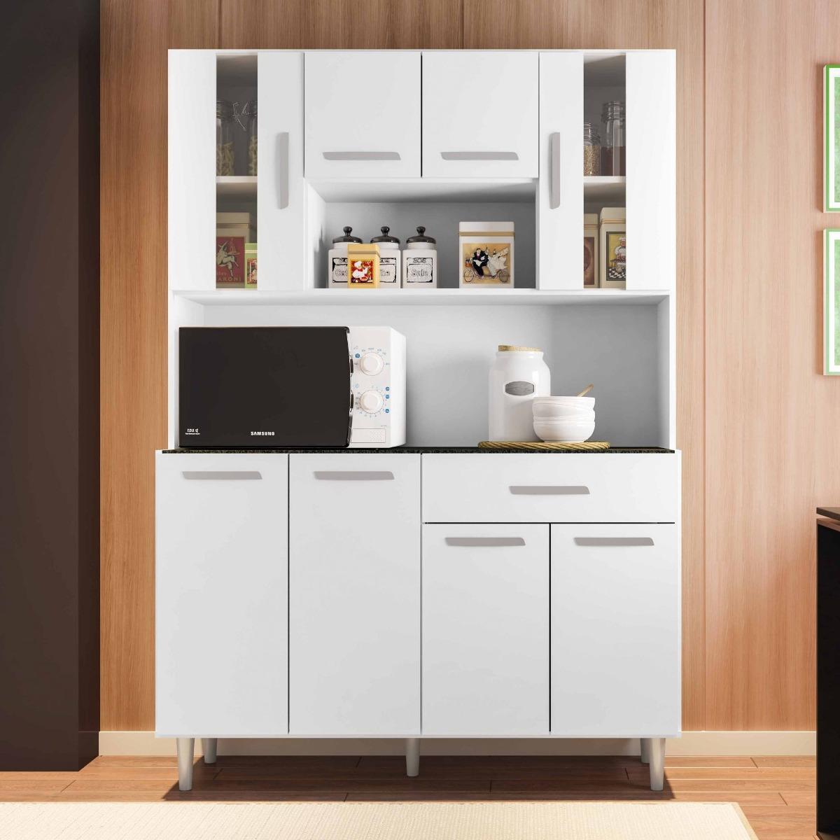 Kit Cozinha Compacta Gabi Poliman R 564 90 Em Mercado Livre