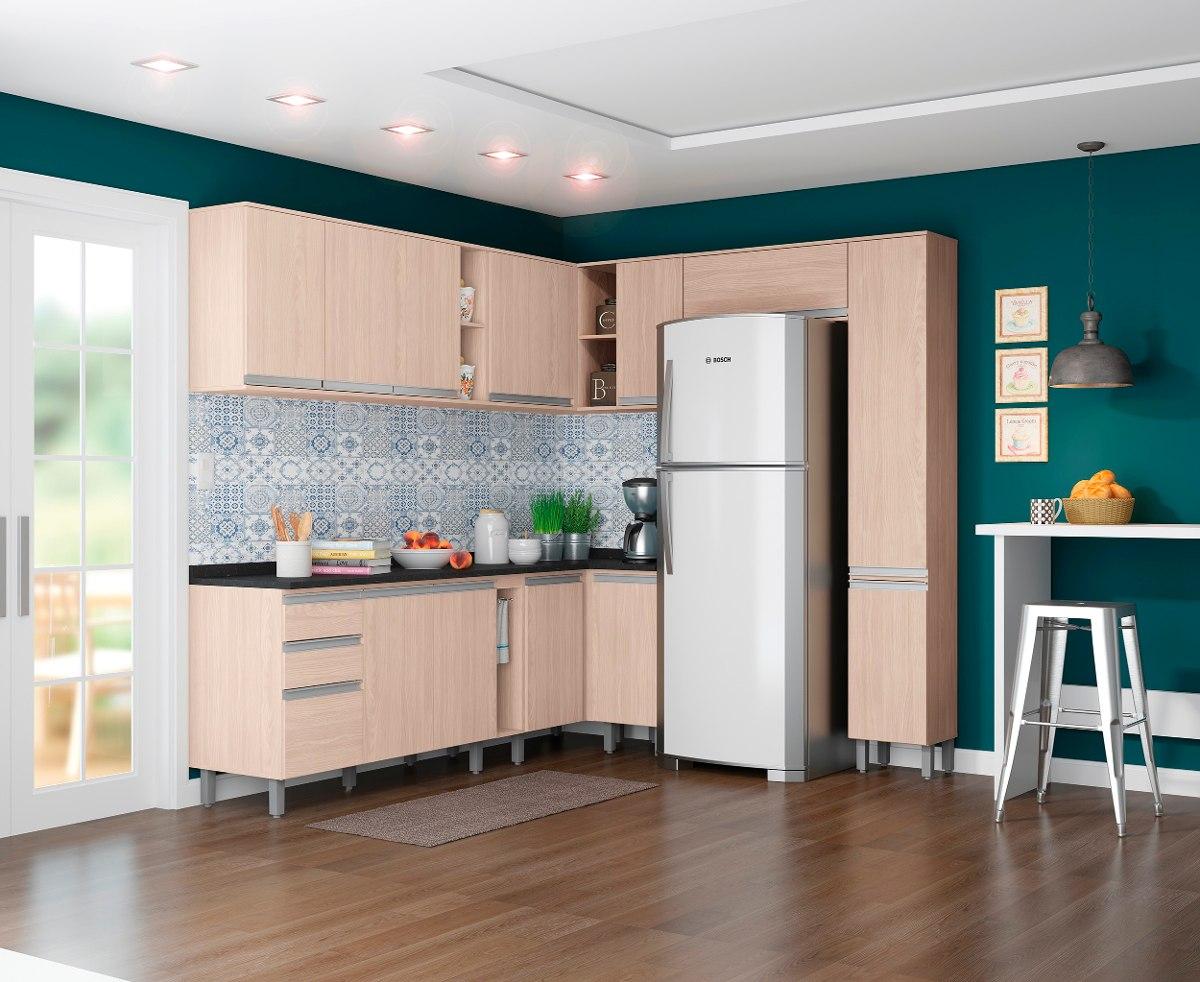Kit Cozinha Completa Modulada 14 Pe As Connect Fendi Henn R