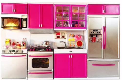 kit cozinha infantil com luz e som