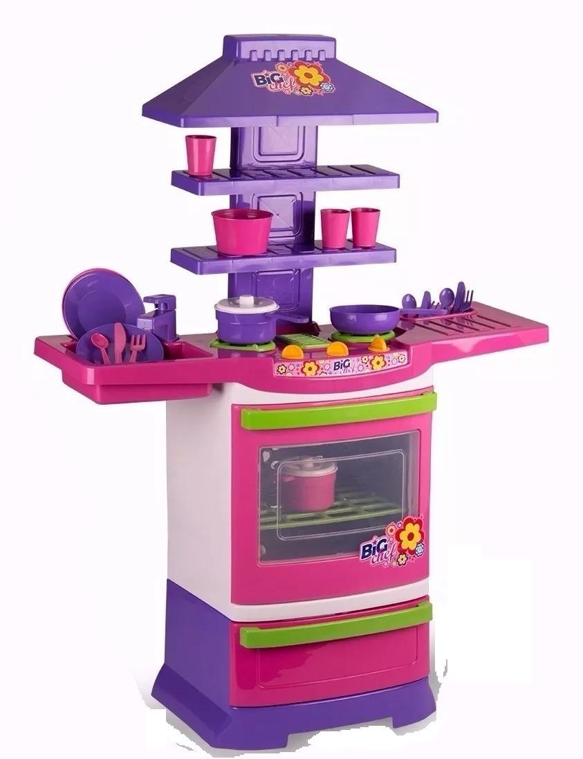 Kit Cozinha Infantil Completa Fog Ozinho Batedeira R 119 90 Em