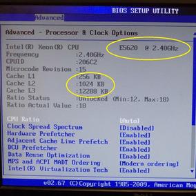Kit Cpu Processador I7 Intel Server Xeon X58 Lga 1366 E5620