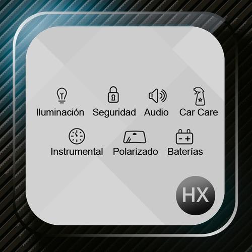 kit cree led c6 h4 6ta generacion + 2 led gratis autos