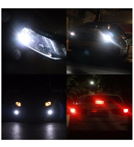 kit cree led c6 luces led auto h4 3800 lumenes