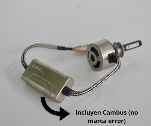 kit cree led f5l h1 h7 h11 h3, no xenon, lámpara auto cambus