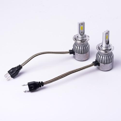 kit cree led h7 c6 6ta gen c/cooler iluminacion autos 4x4 crled c6-h7-120