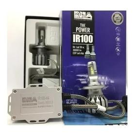 Kit Cree Led Ir100 Iron Canbus Csp H4 Alta Y Baja No Error