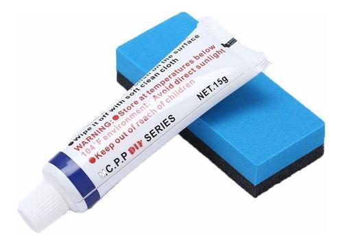kit crema de pulir 15gr con esponja aplicadora