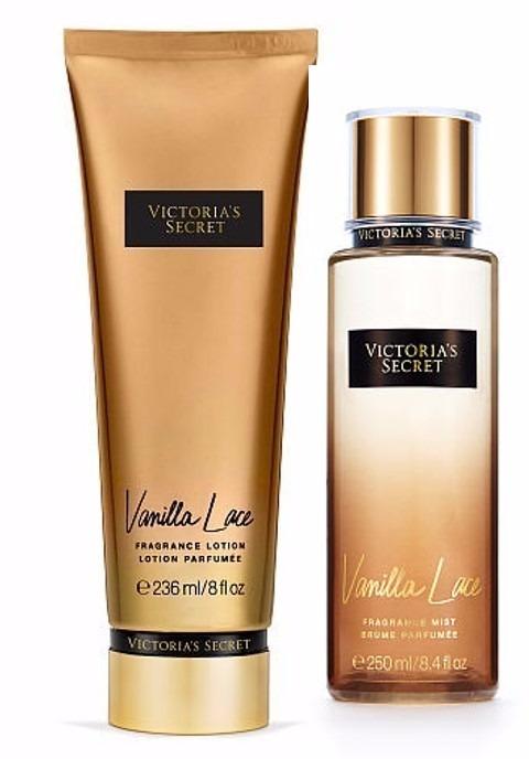2ba898c4722 Kit Creme + Body Splash Victorias Secret Vanilla Lace - R  154