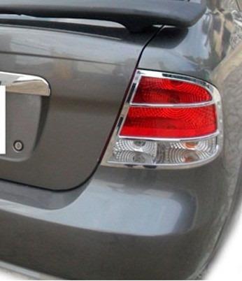 kit cromado aplique stop chevrolet aveo family / aveo sedan!