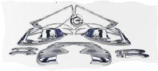 kit cromado completo del mercado hyundai ix35 13-14 19 pieza