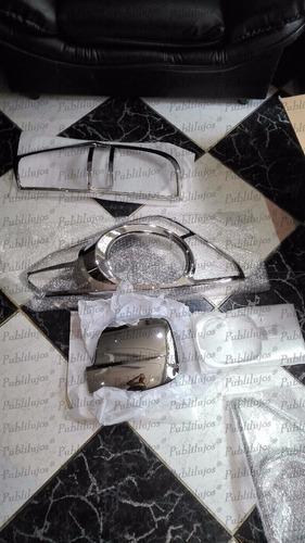 kit cromado completo mercado hyundai starex 09-13 14 piezas
