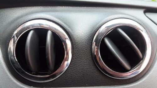 kit cromado interior - aros salida aire - renault duster !!