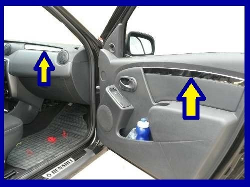 kit cromado interior renault logan familier 09 al 16