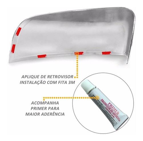 kit cromado nova ranger retrovisor maçanetas tras  2013 /...
