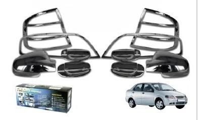 kit cromos de lujo aveo sedan modelo 07-12 14 piezas