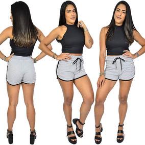 f54da1a594 Shorts Femininos Tumblr - Camisetas e Blusas no Mercado Livre Brasil