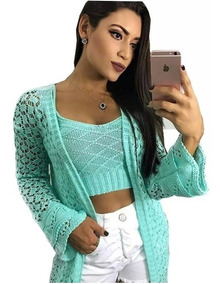 a63c1b004 Kimono Feminino Outros Tipos - Camisetas e Blusas com o Melhores Preços no  Mercado Livre Brasil