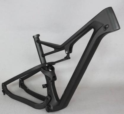 kit cuadro bicicleta fibra de carbono doble suspension