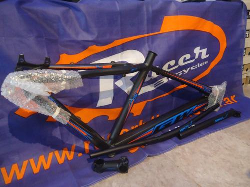 kit cuadro bicicleta gw alligator 27.5 talle m - racer bikes