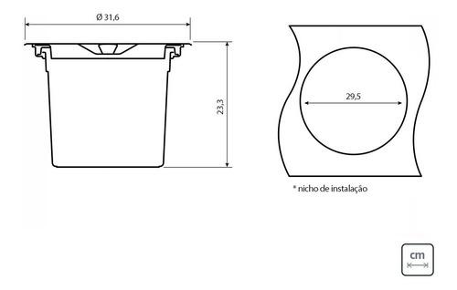 kit cuba morgana 60fx undermount + lixeira 8l tramontina