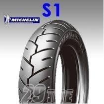 kit cubiertas honda elite 2007-2013 michelin s1 3.50 10