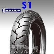 kit cubiertas honda elite 2007-2013 michelin s1 3.50 10
