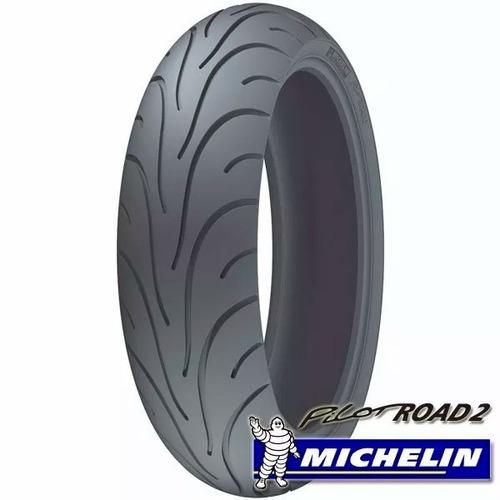 kit cubiertas michelin 190 50 17 + 120 70 17 road 2 sti moto