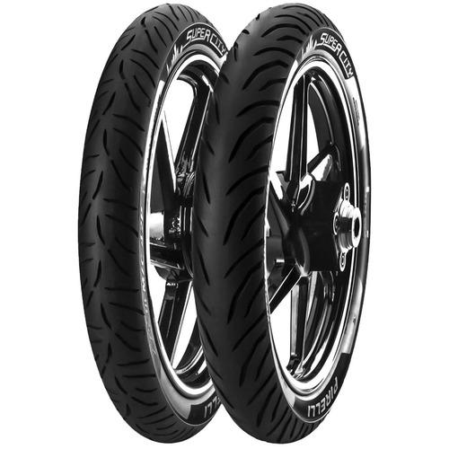kit cubiertas pirelli super city bajaj rouser 135 fas motos