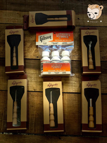 kit cuidados gibson luthier  choice + kit chaves