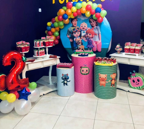 kit cumpleaños party box candy bar ambientaciones  .